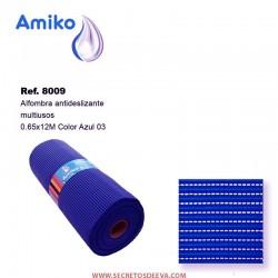 Alfombra Antideslizante Multiusos Azul 03 0.65x12M Amiko