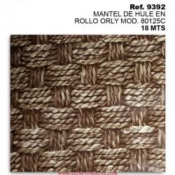 MANTEL DE HULE EN ROLLO ORLY MOD. 80125C