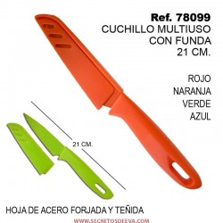 Cuchillo con Funda Coltello