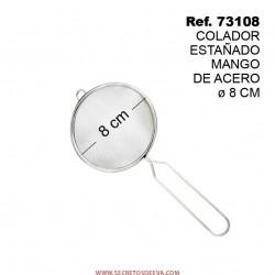 Colador Estañado Mango de Acero 8cm SINI