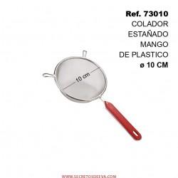 Colador Estañado Mango de Plástico 10cm SINI