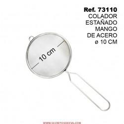 Colador Estañado Mango de Acero 10cm SINI