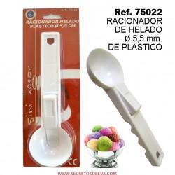 Racionador de Helado Diametro 55mm de Plástico SINI