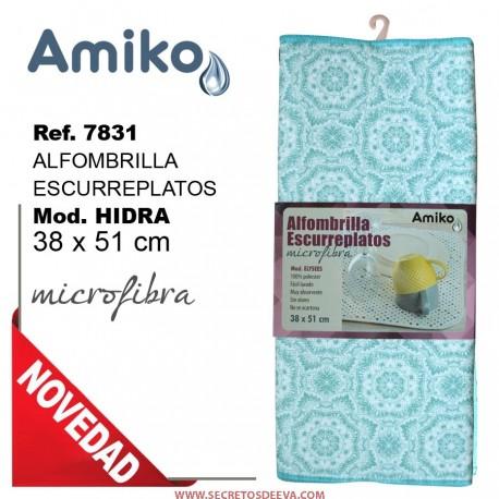 POSAVAJILLAS DE MICROFIBRA MOD. HIDRA 38x51 CM