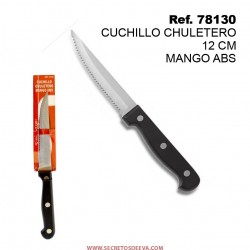 Cuchillo Chuletero 12cm Mango ABS SINI