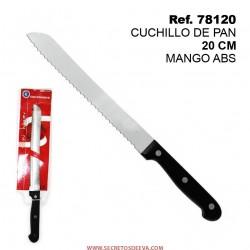Cuchillo de Pan 20cm Mango ABS SINI