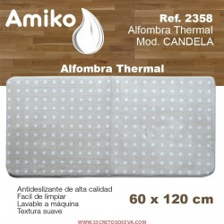 ALFOMBRA THERMAL 120X60 MOD. CANDELA