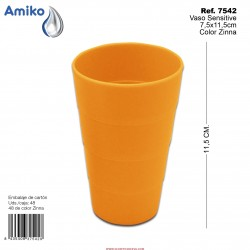 Vaso Sensitive Zinna 7,5x11,5cm Amiko