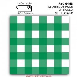 Mantel de Hule Liso en Rollo Modelo 2049-2 Amiko