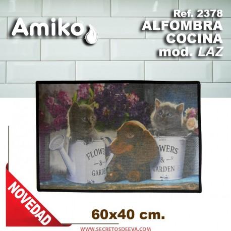 ALFOMBRA COCINA 60X40 MOD. LAZ