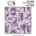 MANTEL DE HULE EN ROLLO MOD. JHF-82205E