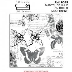 MANTEL DE HULE EN ROLLO MOD. JHF-82092F