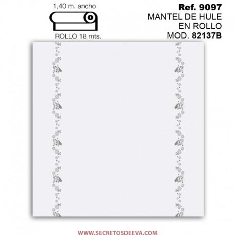 MANTEL DE HULE EN ROLLO MOD. JHF-82137B