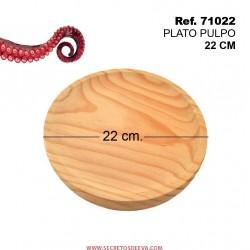 Plato de Pulpo 22cm Diámetro