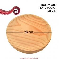 Plato de Pulpo 26cm Diámetro