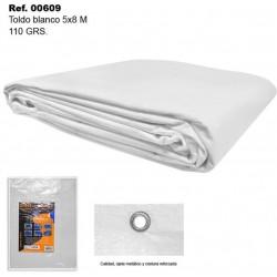 Toldo Blanco 5X8m 110gr