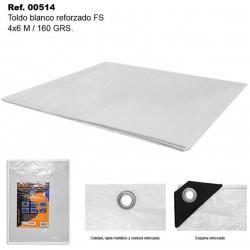Toldo Blanco 4X6m 160gr