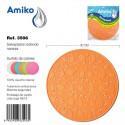 Salvaplatos Circular 30cm Naranja Amiko